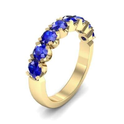 Coronet Blue Sapphire Ring (0.52 Carat)