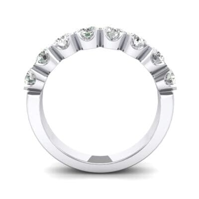 Coronet Crystal Ring (1.28 CTW) Side View