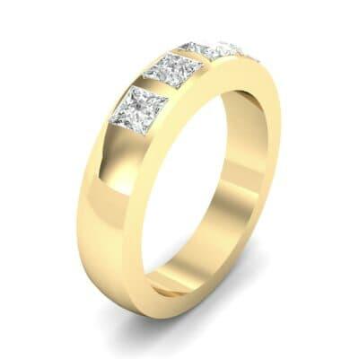 Quattro Princess-Cut Diamond Ring (0.72 Carat)