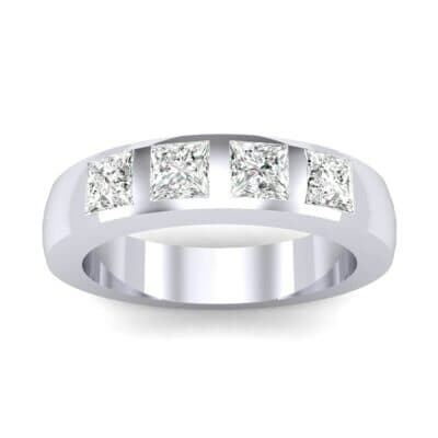 Quattro Princess-Cut Diamond Ring (0.72 Carat)