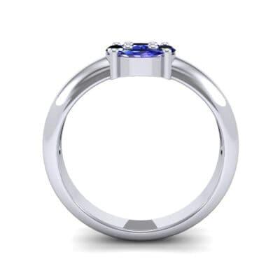 5811 Render 1 01 Camera3 Stone 3 Blue Sapphire 0 Floor 0 Metal 1 Platinum 0 Emitter Aqua Light 0