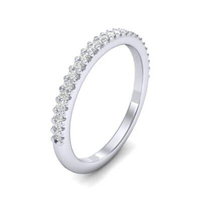 Twinkle Fishtail Pave Diamond Ring (0.17 Carat)