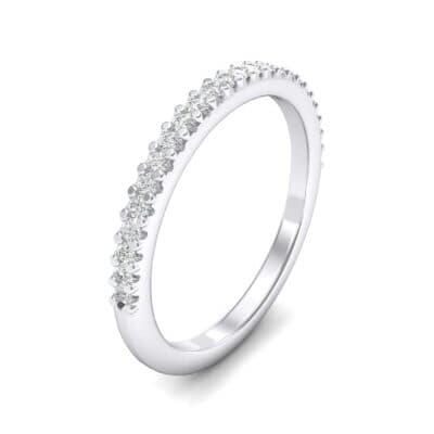 Twinkle Fishtail Pave Crystals Ring (0.17 Carat)