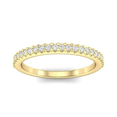 Twinkle Fishtail Pave Diamond Ring (0.17 Carat)