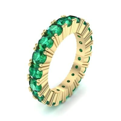 Aria Tapered Emerald Eternity Ring (2.2 Carat)