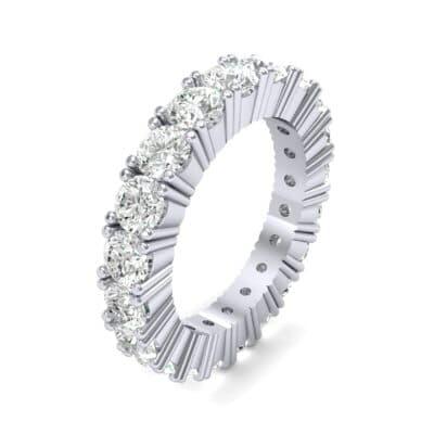 Aria Tapered Diamond Eternity Ring (2.2 Carat)