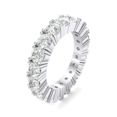 Aria Tapered Crystal Eternity Ring (2.2 CTW)