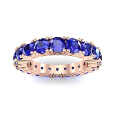 Aria Tapered Blue Sapphire Eternity Ring (2.2 Carat)
