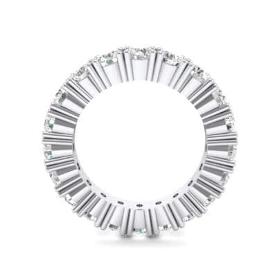 Aria Tapered Crystal Eternity Ring (2.2 CTW) Side View