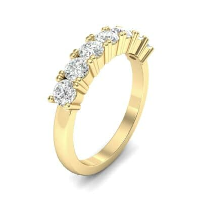 Luxe Seven-Stone Diamond Ring (0.77 Carat)