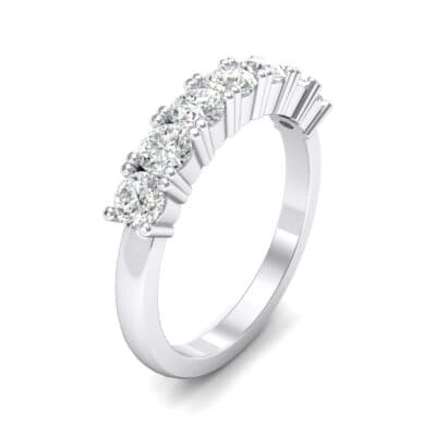 Luxe Seven-Stone Crystal Ring (0.77 CTW)