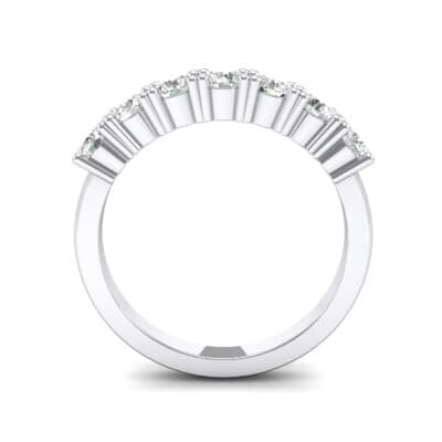 Luxe Seven-Stone Crystal Ring (0.77 CTW) Side View