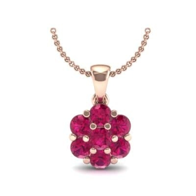Fiore Ruby Pendant (0.51 CTW) Top Dynamic View