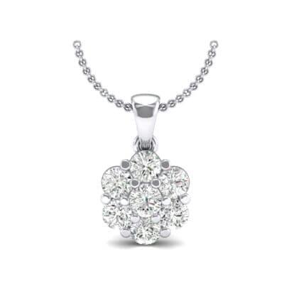 Fiore Diamond Pendant (0.51 CTW) Top Dynamic View