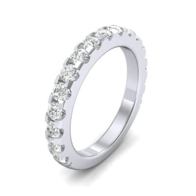 Luxe Scalloped Pave Diamond Ring (0.6 Carat)