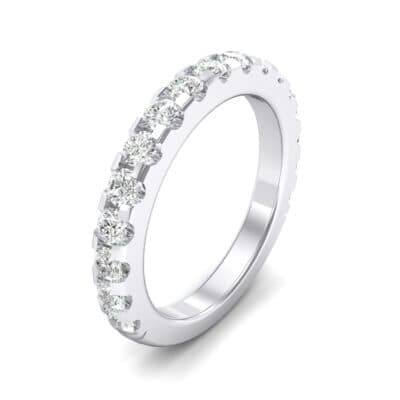 Luxe Scalloped Pave Crystals Ring (0.6 Carat)