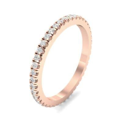 Felicity Pave Diamond Eternity Ring (0.44 Carat)
