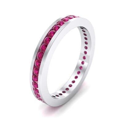 Channel-Set Ruby Eternity Ring (0.59 Carat)