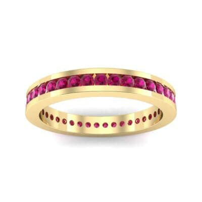 Channel-Set Ruby Eternity Ring (0.59 Carat)