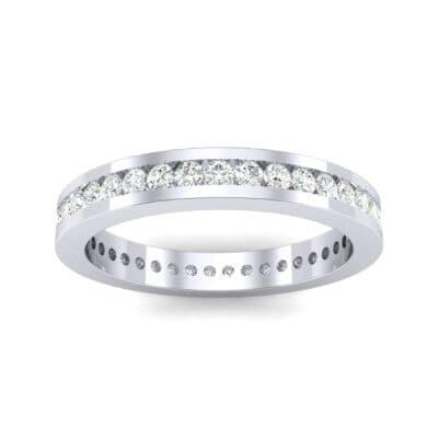 Channel-Set Diamond Eternity Ring (0.59 Carat)