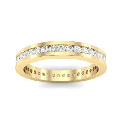 Channel-Set Diamond Eternity Ring (0.59 Carat)
