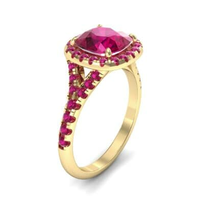 Single-Prong Marquise Ruby Ring (1.15 Carat)