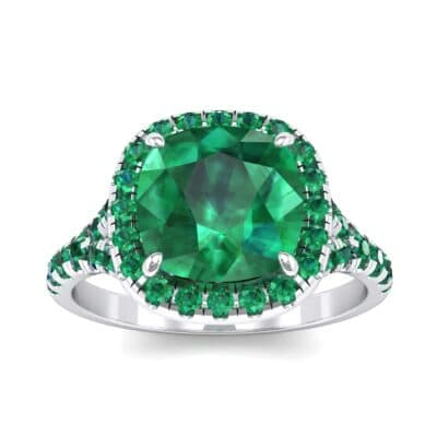 Single-Prong Marquise Emerald Ring (1.15 Carat)