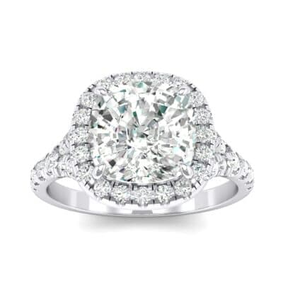 Single-Prong Marquise Crystal Ring (1.15 CTW) Top Dynamic View
