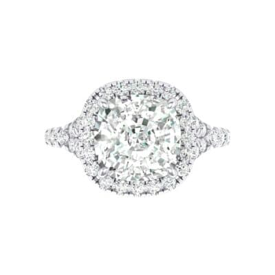 Single-Prong Marquise Crystal Ring (1.15 CTW) Top Flat View