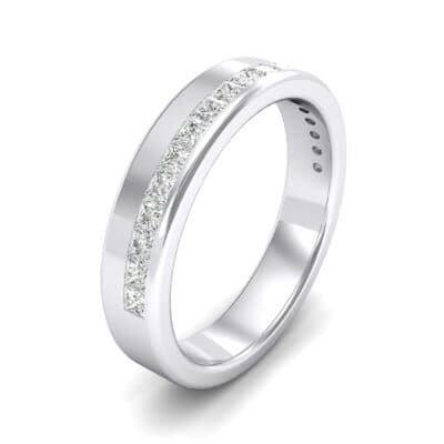 Horizon Princess-Cut Crystals Wedding Ring (0.29 Carat)