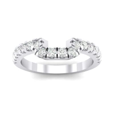 Bella Pave Crystals Ring (0.36 Carat)