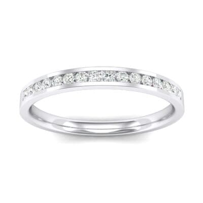 Extra-Thin Channel-Set Crystals Ring (0.17 Carat)