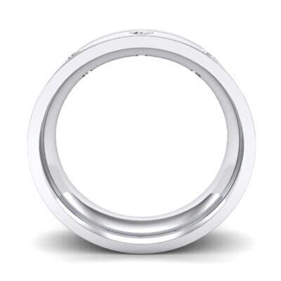 Round-Cut Trio Diamond Ring (0.14 CTW) Side View