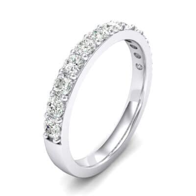 Surface Prong Set Crystals Ring (0.82 Carat)