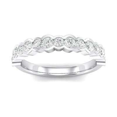 Contoured Channel-Set Crystals Ring