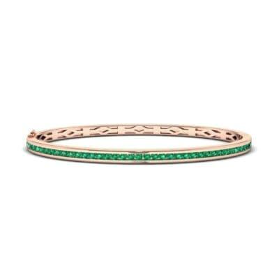 Regalia Circlet Emerald Bangle (1.5 Carat)