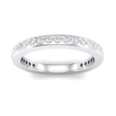 Squared Shank Crystals Ring
