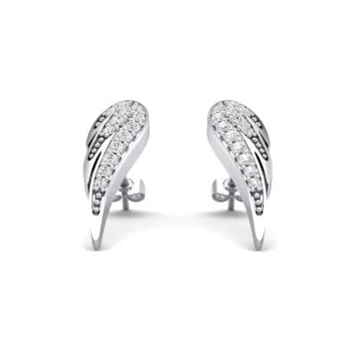 Angel Wing Crystals Earrings
