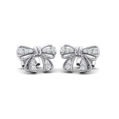 Bow Crystals Earrings (0.25 Carat)