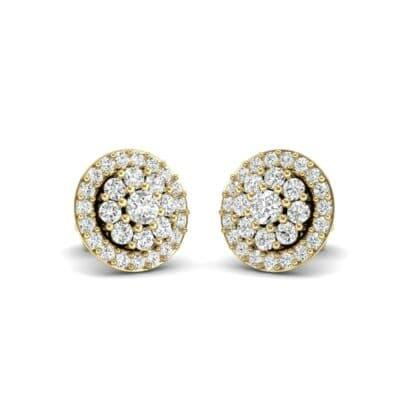 Halo Larosa Diamond Earrings (0.43 Carat)