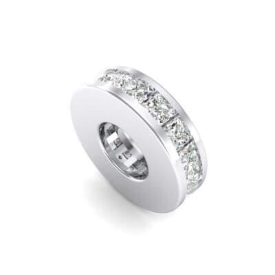 Princess-Cut Crystals Spacer Bead (0.72 Carat)