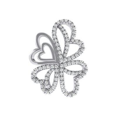 Clover Hearts Crystals Pendant (1.05 Carat)