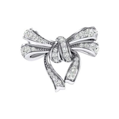 Romance Crystals Bow Pendant (0.63 Carat)