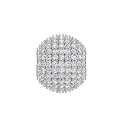 Full Pave Crystals Ball Charm (2.38 Carat)