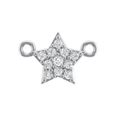 Pave Star Crystals Pendant (0.135 Carat)