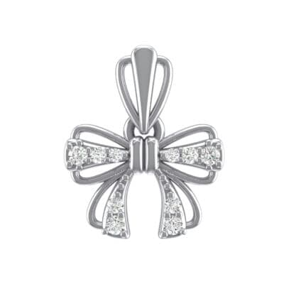 Bow Crystals Pendant