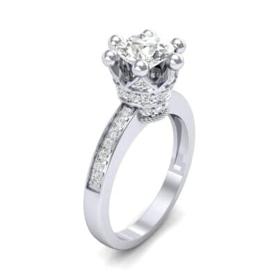 Six-Prong Coronet Diamond Engagement Ring (0.78 CTW)