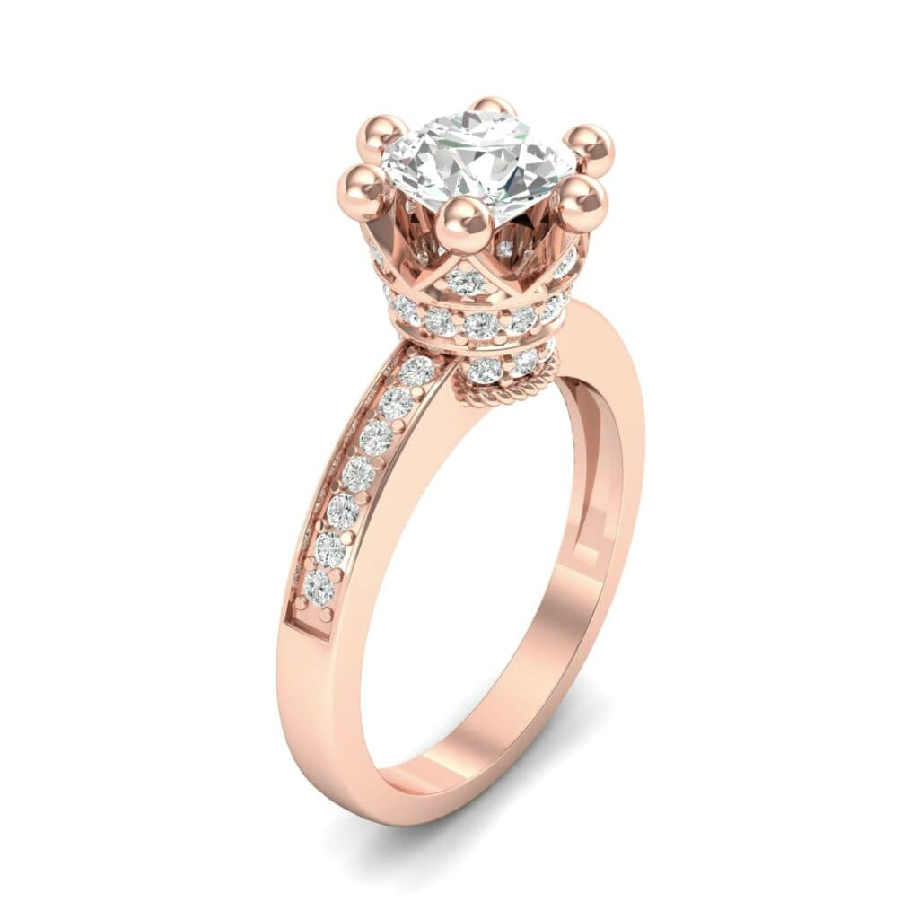 Ij001 Render 1 01 Camera1 Stone 4 Diamond 0 Floor 0 Metal 2 Rose Gold 0 Emitter Aqua Light 0