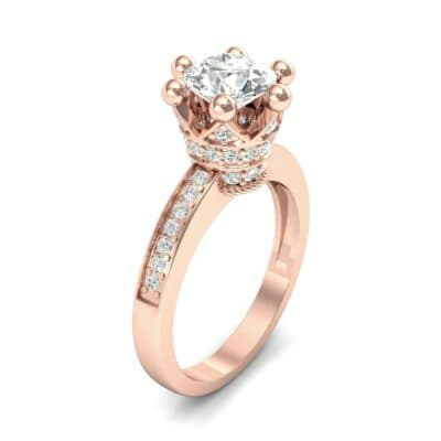 Six-Prong Coronet Diamond Engagement Ring (0.78 CTW)