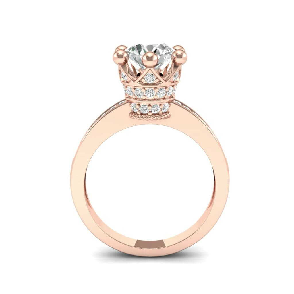 Ij001 Render 1 01 Camera3 Stone 4 Diamond 0 Floor 0 Metal 2 Rose Gold 0 Emitter Aqua Light 0